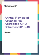 Annual Review of Advance HE Accredited CPD Schemes 2018-19