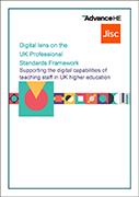 Digital lens on the UK Professional Standards Framework (UKPSF)