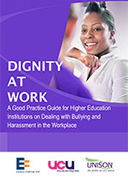 Dignity at work: a good practice guide for higher education institutions word version