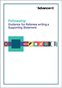Fellow – Supporting Statement Guidance and Template
