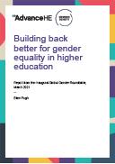Building back better for gender equality in higher education