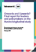 Onwards and Upwards? Final report for leaders and policymakers on the Aurora longitudinal study
