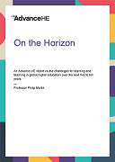 On the Horizon - Learning and Teaching