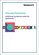 Principal Fellowship Additional Guidance Notes for Applicants