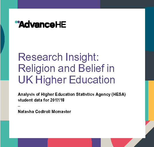 Religion and Belief in UK Higher Education
