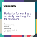 Reflection for learning: a scholarly practice guide for educators
