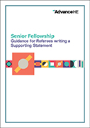 Senior Fellow – Supporting Statement Guidance and Template