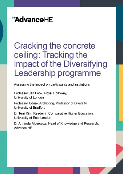 Cracking the concrete ceiling: Tracking the impact of the Diversifying Leadership programme (Full report)