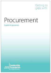 Getting to Grips with Procurement