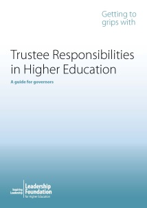 Getting to Grips with Trustee Responsibilities in Higher Education