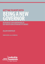 Getting to Grips with Being a New Governor