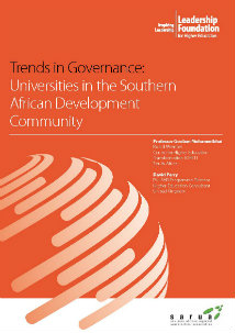 Trends in Governance: Universities in the Southern, African Development Community