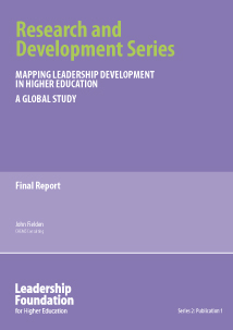 Mapping Leadership Development in Higher Education: A Global Story - Final Report