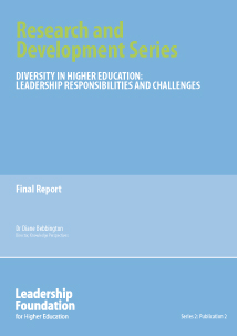 Diversity in Higher Education: Leadership Responsibilities and Challenges