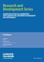 Higher Education Collaborations: Implication for Leadership Governance and Management