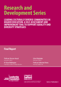 Leading Culturally Diverse Communities In Higher Education: A Self Assessment And Improvement Tool To Support Equality And Diversity Strategies