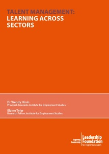 Talent Management: Learning Across Sectors - Full Report