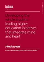 Developing the Whole Student: Leading Higher Education Initiatives that Integrate Mind and Heart
