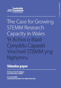 The Case for Growing STEMM Research Capacity in Wales