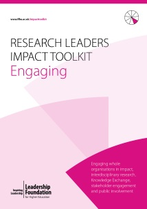 Research Leader's Impact Toolkit - Engaging