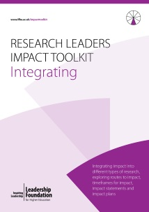 Research Leader's Impact Toolkit - Integrating