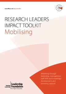 Research Leader's Impact Toolkit - Mobilising