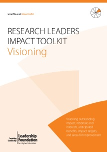 Research Leader's Impact Toolkit - Visioning