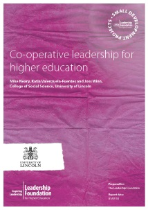 Co-operative leadership for higher education