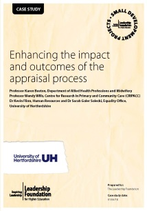 Enhancing the impact and outcomes of the appraisal process