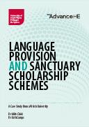 Language provision and sanctuary scholarship schemes