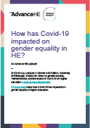 How has Covid-19 impacted on gender equality in HE?