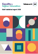 Equality and higher education - Staff statistical report 2020
