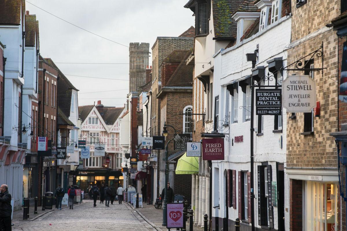 Shops in Canterbury UK