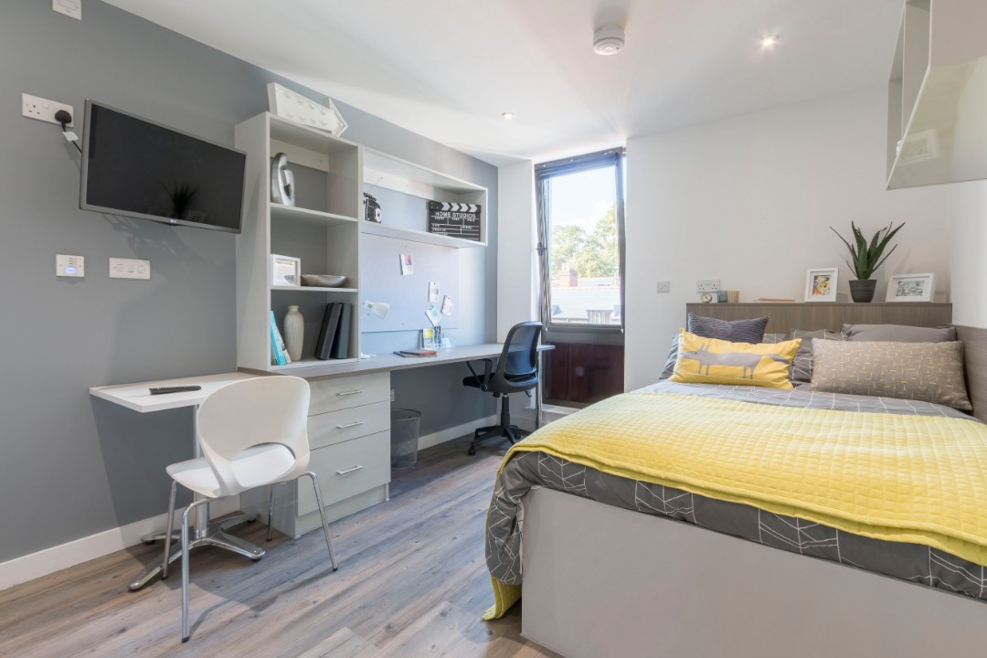 city centre student accommodation in cardiff glendower house. Black Bedroom Furniture Sets. Home Design Ideas