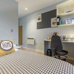 Cluster en-suite at Mary Parker House Plymouth student accommodation