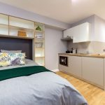 Studio at The Depot student accommodation in Exeter