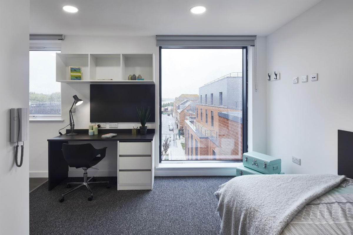 Classic Studio at Canterbury Student Manor student accommodation in Canterbury