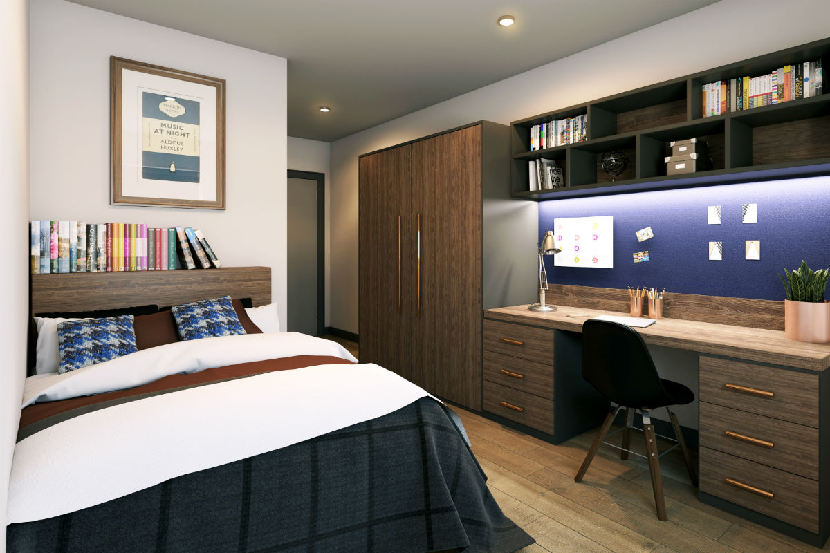 Stylish student living in Egham | Hox Park student accommodation