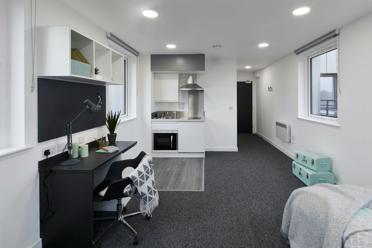 Large Premium Studio at Canterbury Student Manor student accommodation in Canterbury