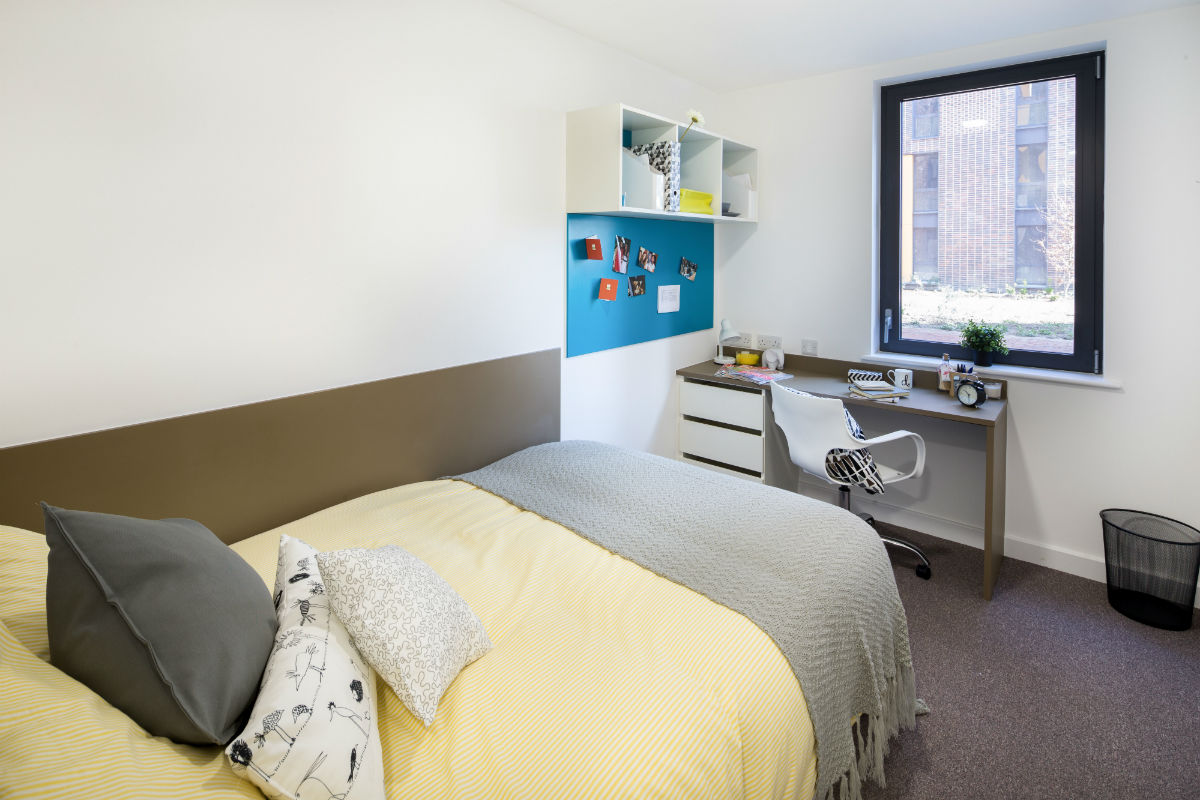 Threedio room at Grand Felda student accommodation in Wembley, London