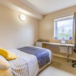 Studio at Leighton Hall student accommodation in Preston