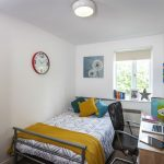 Standard Room at Moss Court student accommodation in Manchester