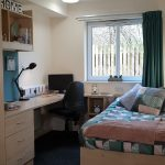 Premium en-suite room at The Cube student accommodation in Loughborough