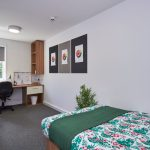 Studio at Slade Park student accommodation in Oxford