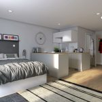 Deluxe Studio Room at West Way Square Student living Oxford