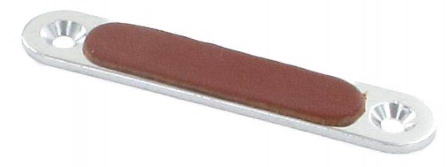 Plain leather buffer for type S2/S5 ELITE magnetic catch, light brown