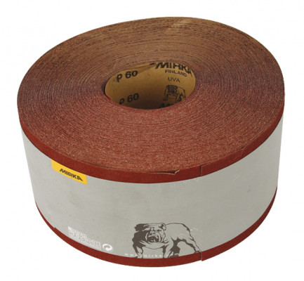 Abrasive roll, 50 m roll, mirka hi-flex, for power & sanding, grit 80
