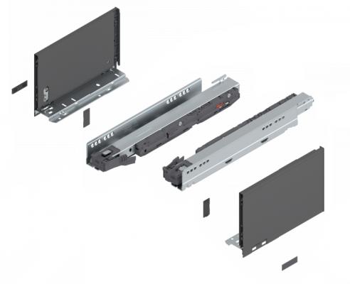 LEGRABOX component 'F' grey
