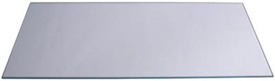 Glass shelf for cab, 454x250 mm