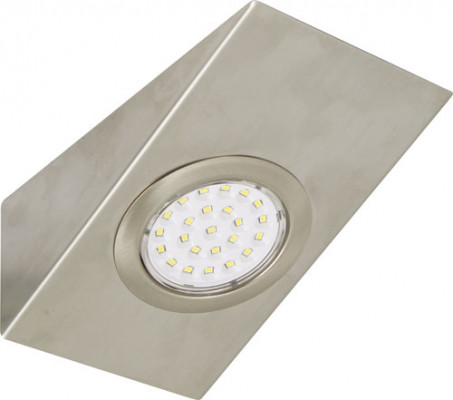LOOX LED downlight 12 v, rated IP20, rectangle wedge downlight, daylight white 6000k